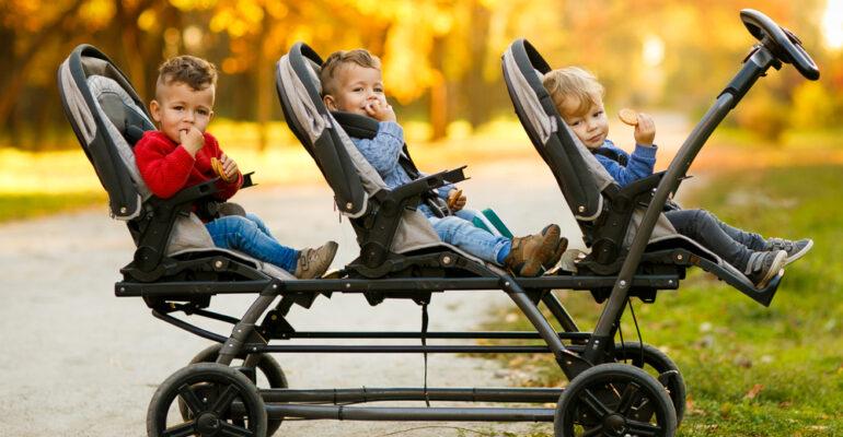triple-stroller